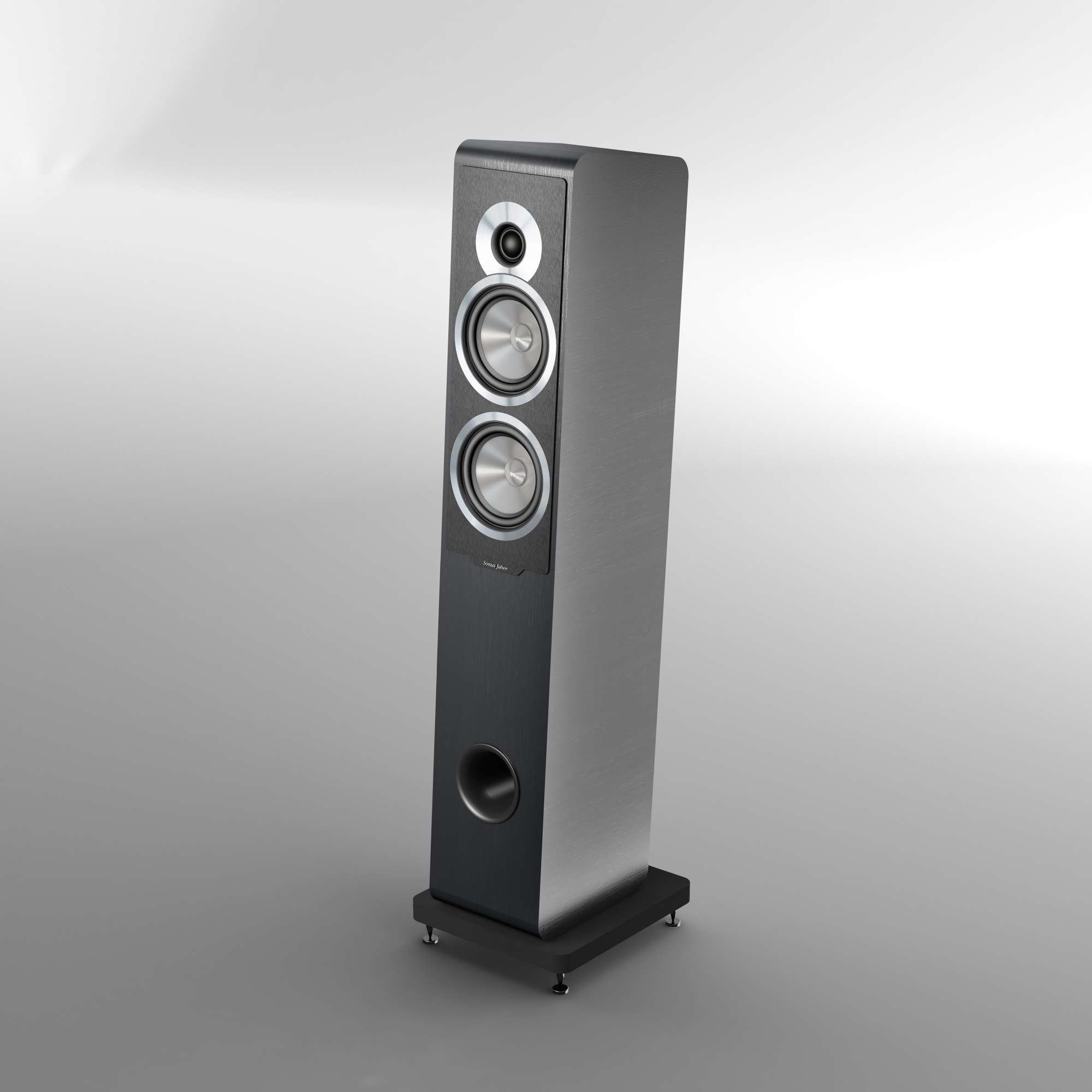 Sonus Faber Principia 5 Floorstanding-Speaker, black (checked return)