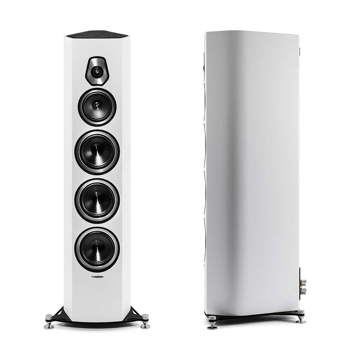 Sonus Faber Sonetto VIII Stand-Speaker white matte