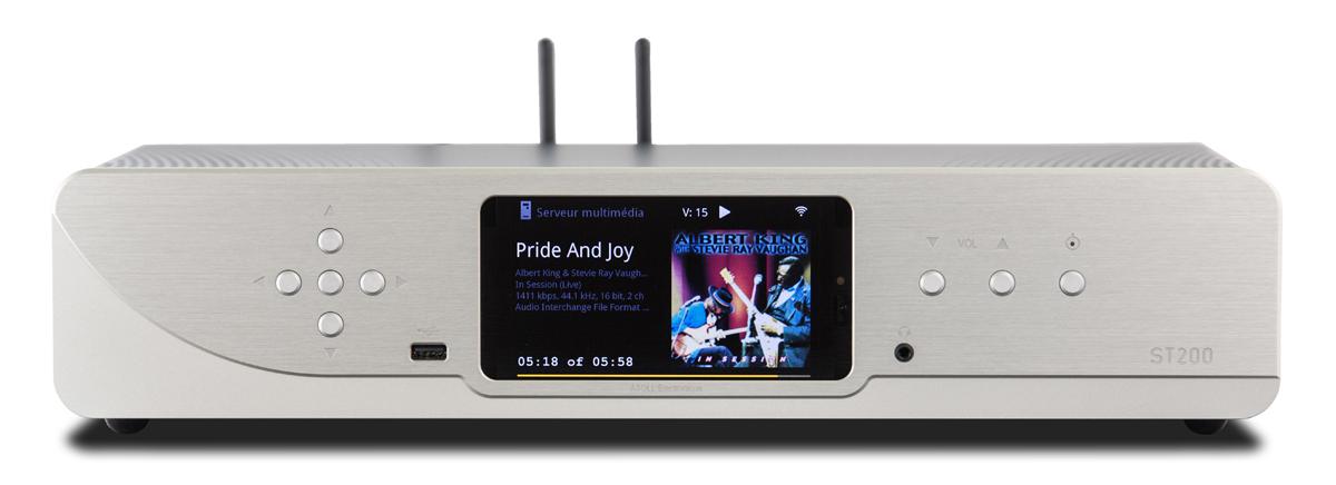 Atoll ST 200 Signature Netzwerk-Streamer mit analoge Lautstärkeregelung