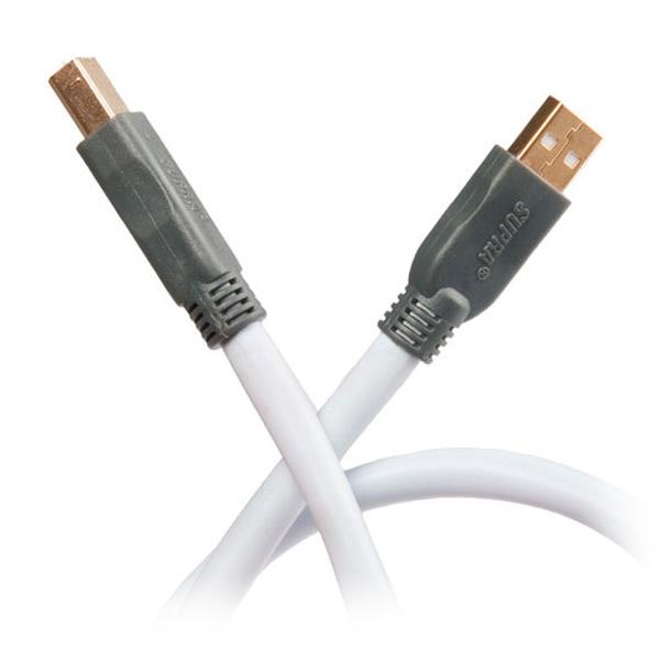 Supra USB 2.0 A-B Kabel 10,0 mtr.