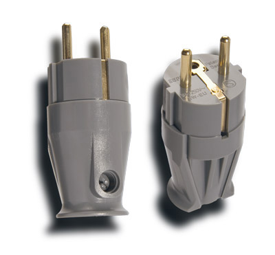 Supra mains connector Schuko