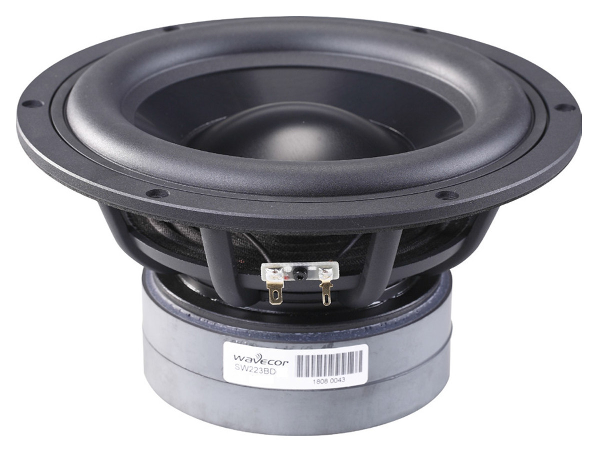 Wavecor SW223BD03 Aluminium 8 OHM
