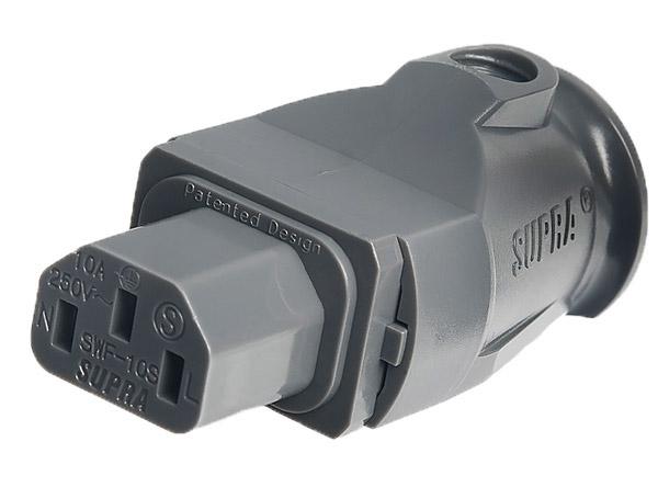 Supra SWF-10S Kaltgerätestecker
