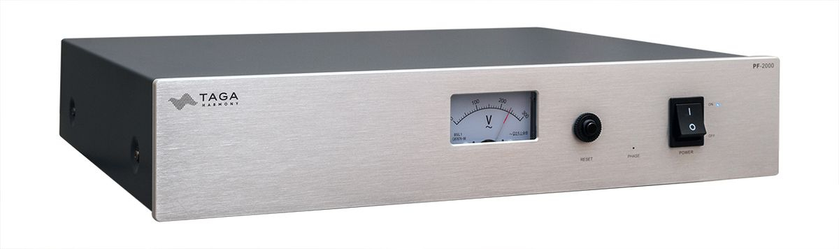 TAGA PF-2000 High End Class Noice Filter, silver