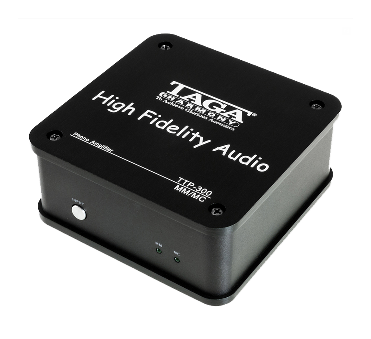 Taga TTP-300 MM/MC Phono Amplifier, black