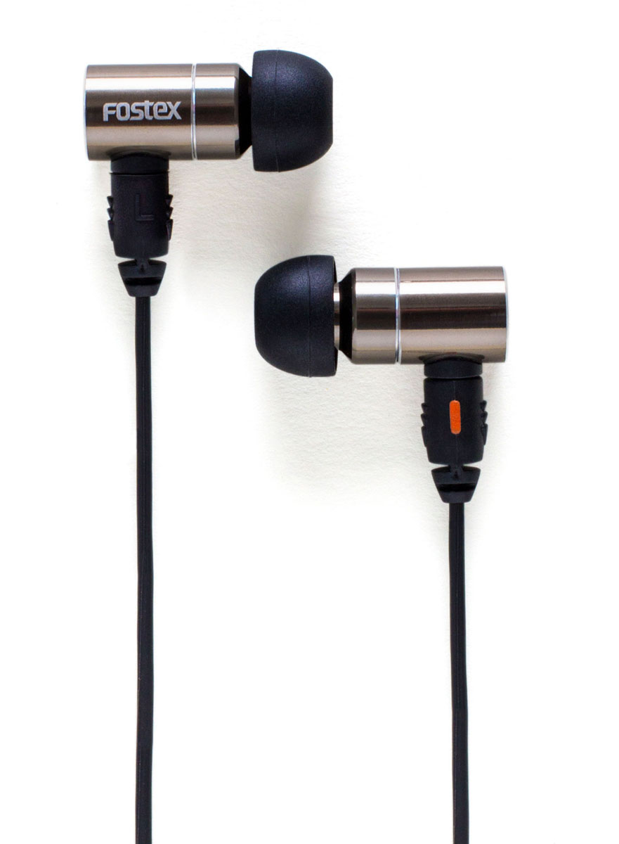 Fostex TE-07 In-Ear Headphones Silver