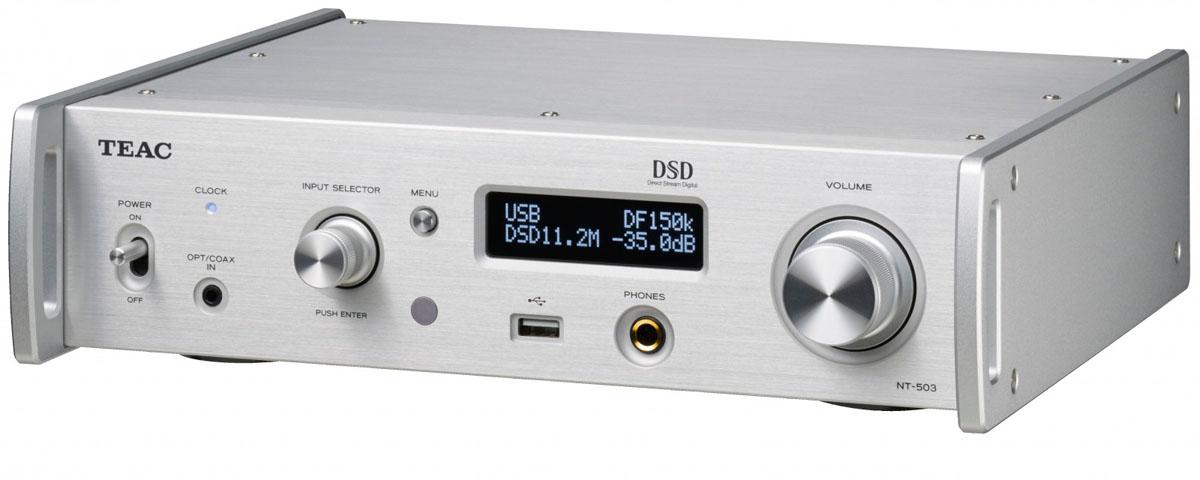 Teac NT-503 USB-DA-Wandler/Netzwerk-Player silber