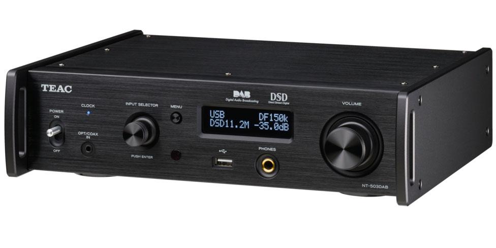 Teac NT-503 DAB USB-DA-Wandler/Netzwerk-Player schwarz