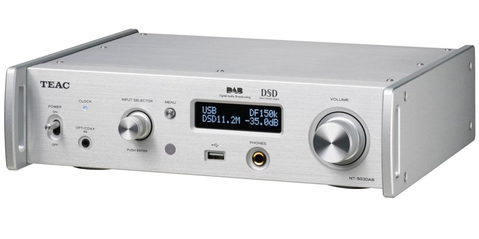 Teac NT-503DAB USB-DA-Converter/Network-Player Silver