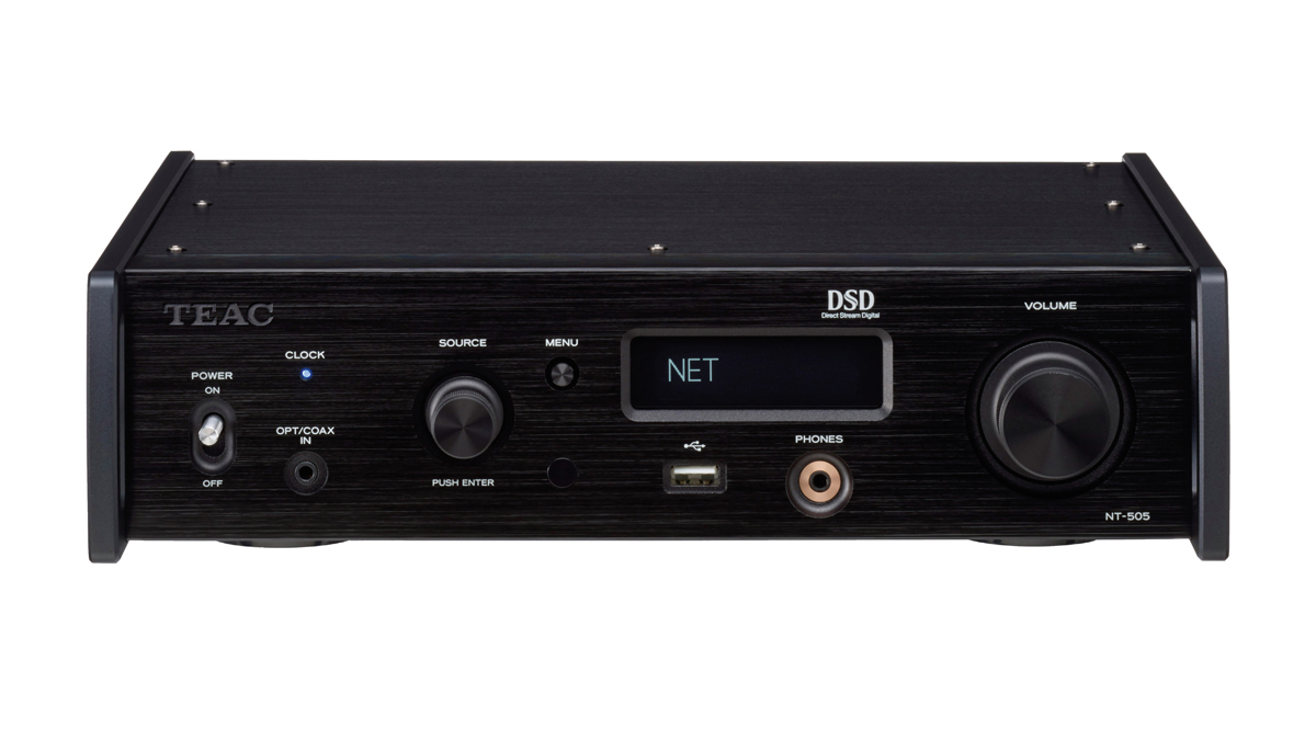 Teac TN-505 USB DAC/Network Player supporting DSD512 and PCM32/768