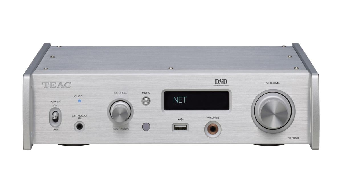 Teac NT-505 USB-DA-Wandler/Netzwerk-Player silber