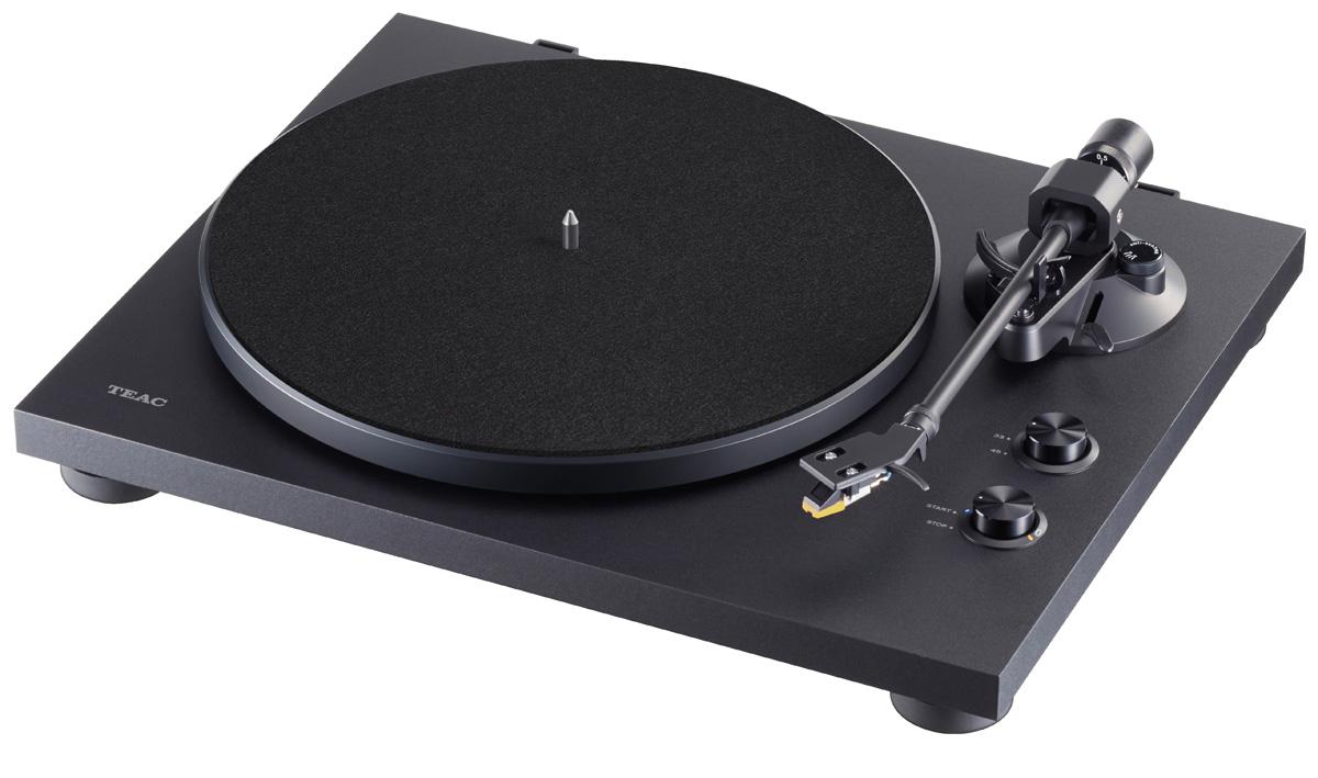 Teac TN-280 BT Plattenspieler, mit MM-System, Phono-Entzerrer und BT Ausgang schwarz