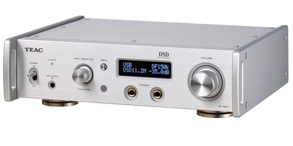 Teac UD-503 USB-DA-Wandler/Kopfhörerverstärker silber