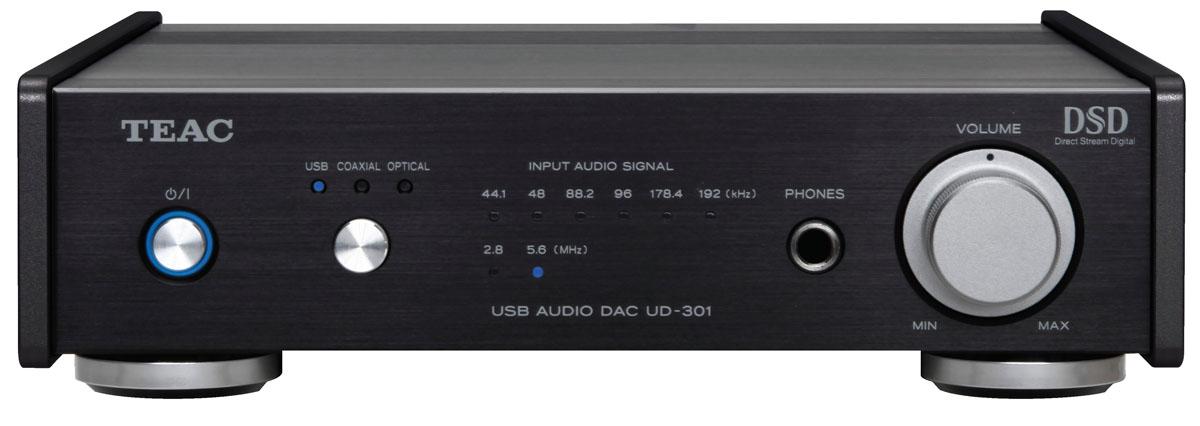 Teac UD-301-X USB Audio DAC Digital-Audio-Wandler schwarz