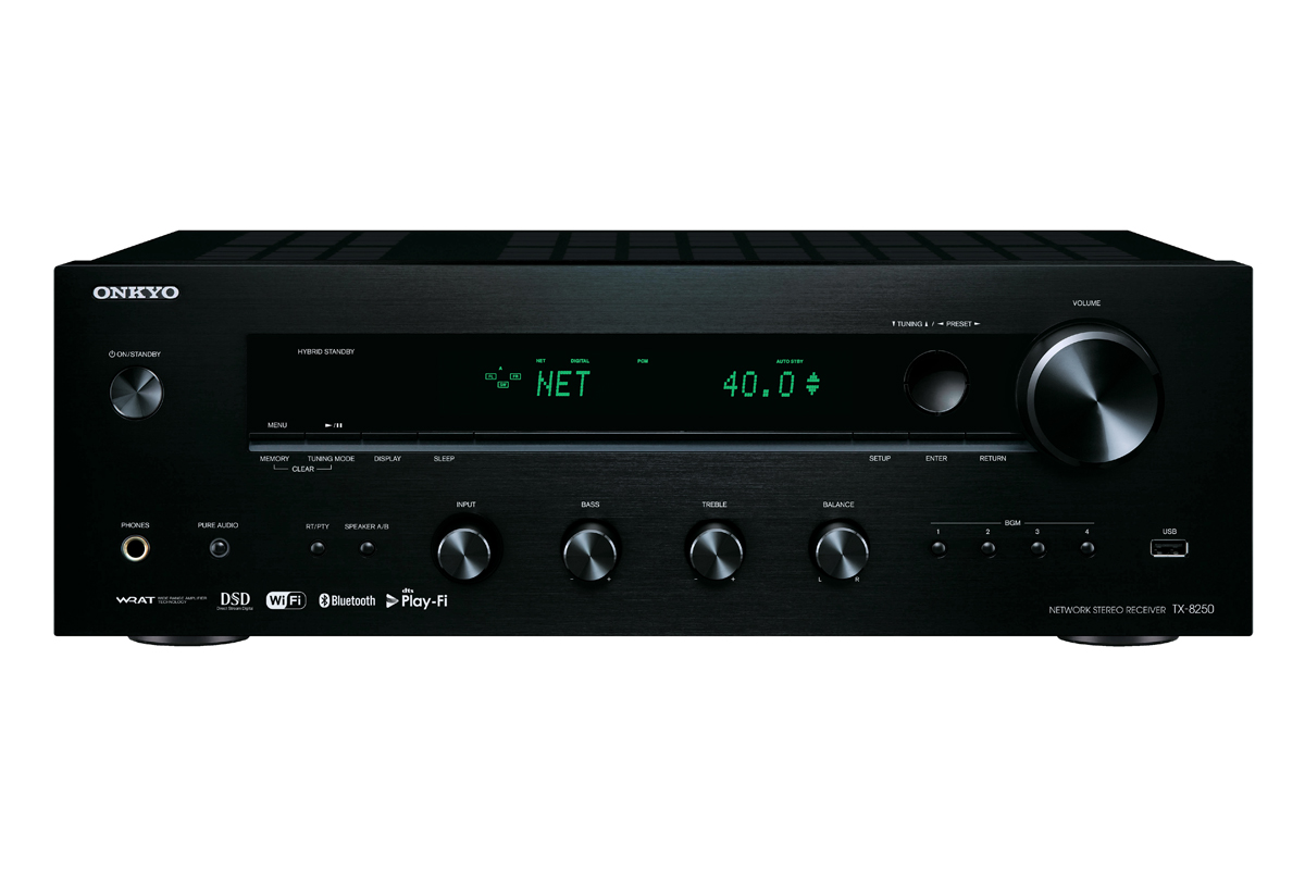 Onkyo TX-8250 Netzwerk Stereo Receiver