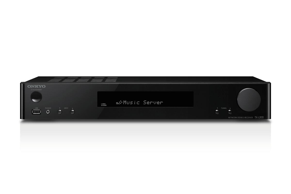 Onkyo TX-L20D Netzwerk Stereo Receiver schwarz
