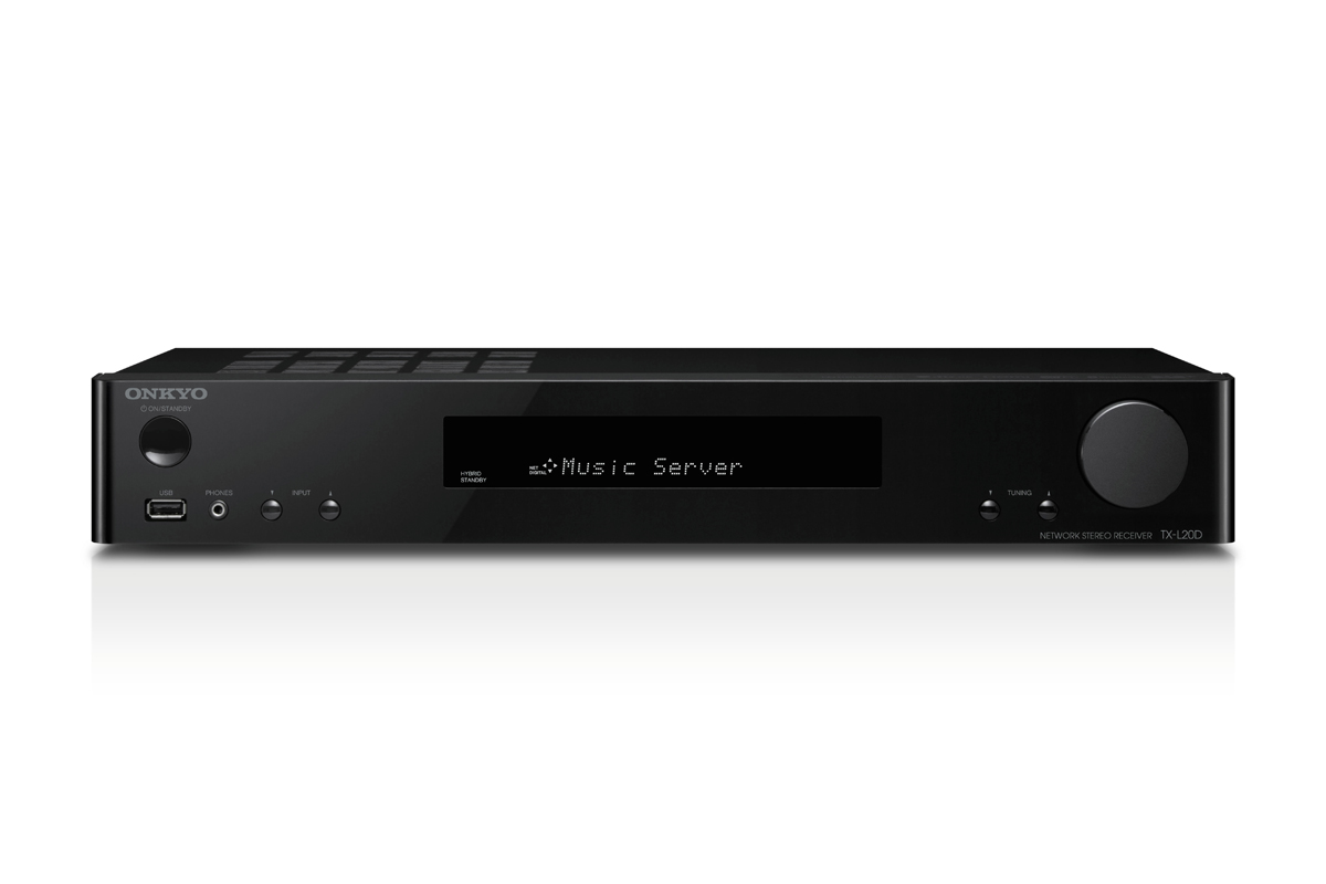 Onkyo TX-L20D Network Stereo Receiver black