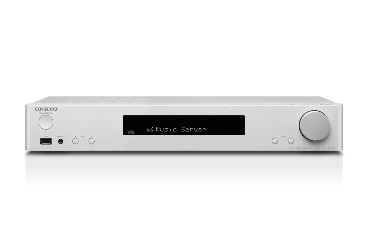 Onkyo TX-L20D Netzwerk Stereo Receiver weiss