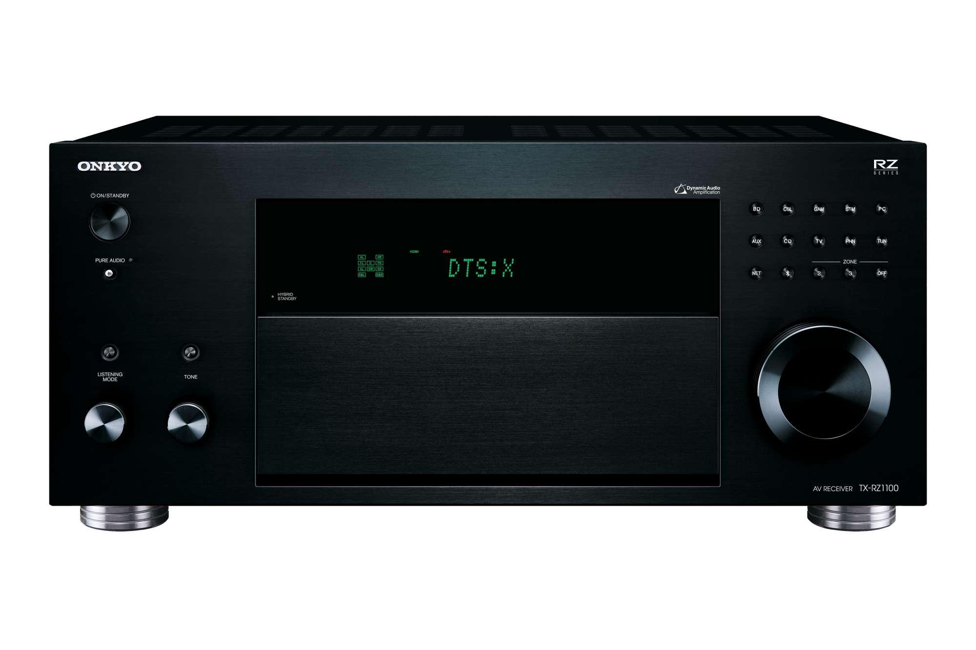 Onkyo TX-RZ1100 Netzwerk 9.2-Kanal-AV-Receiver, schwarz (geprüfte Retoure)