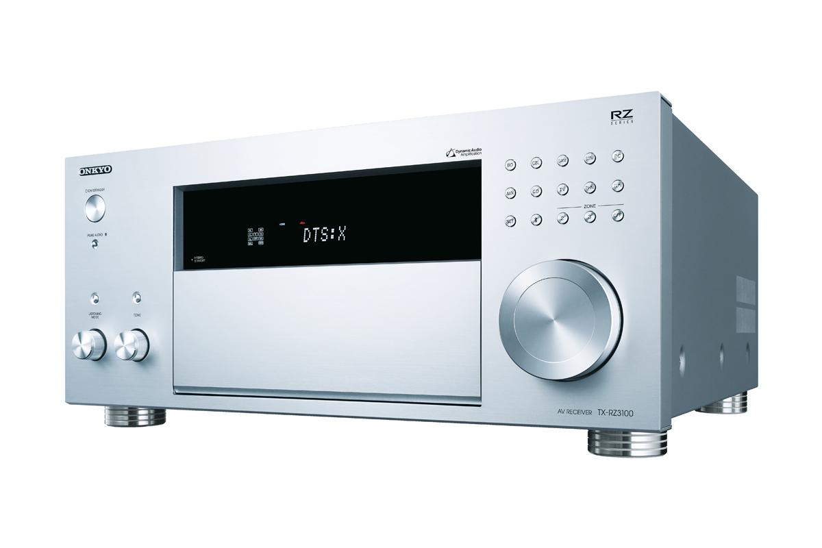 Onkyo TX-RZ3100 Netzwerk 11.2-Kanal-AV-Receiver silber