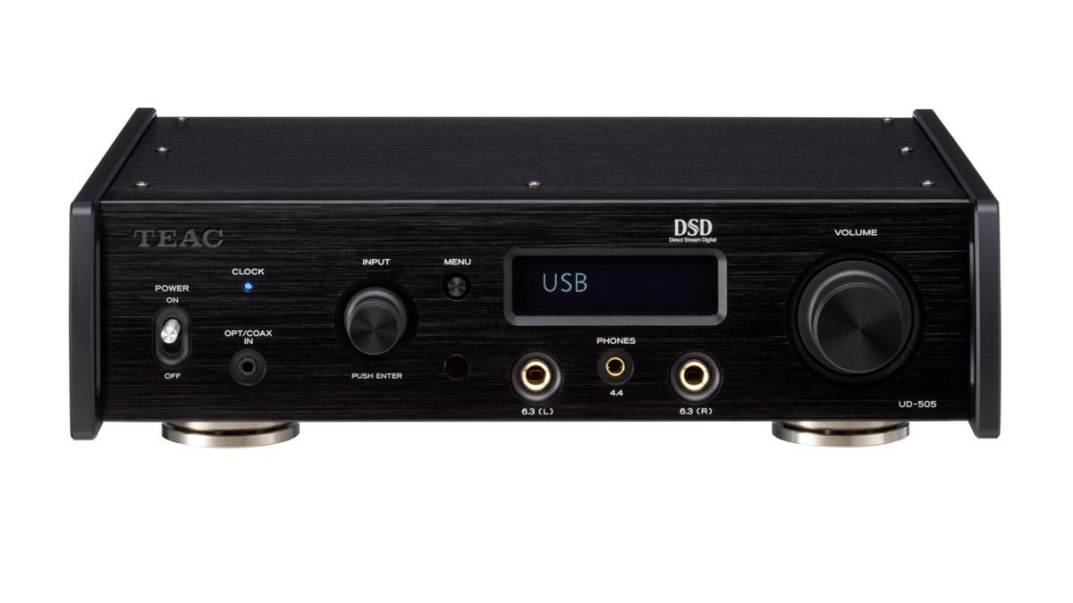 Teac UD-505 USB-DA-Wandler/Kopfhörerverstärker