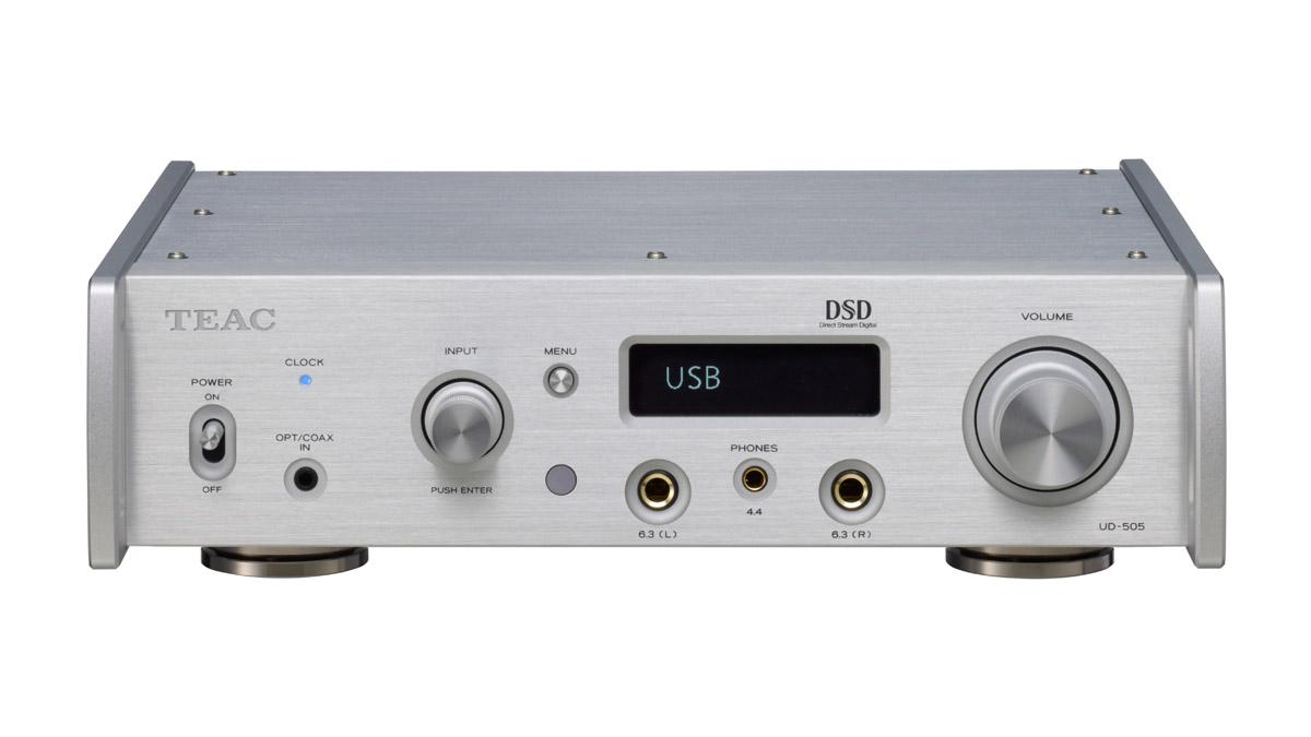 Teac UD-505 USB-DA-Wandler/Kopfhörerverstärker silber