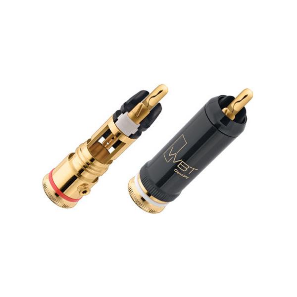 WBT-0102 CU Nextgen Koaxialstecker 9 mm, Gold