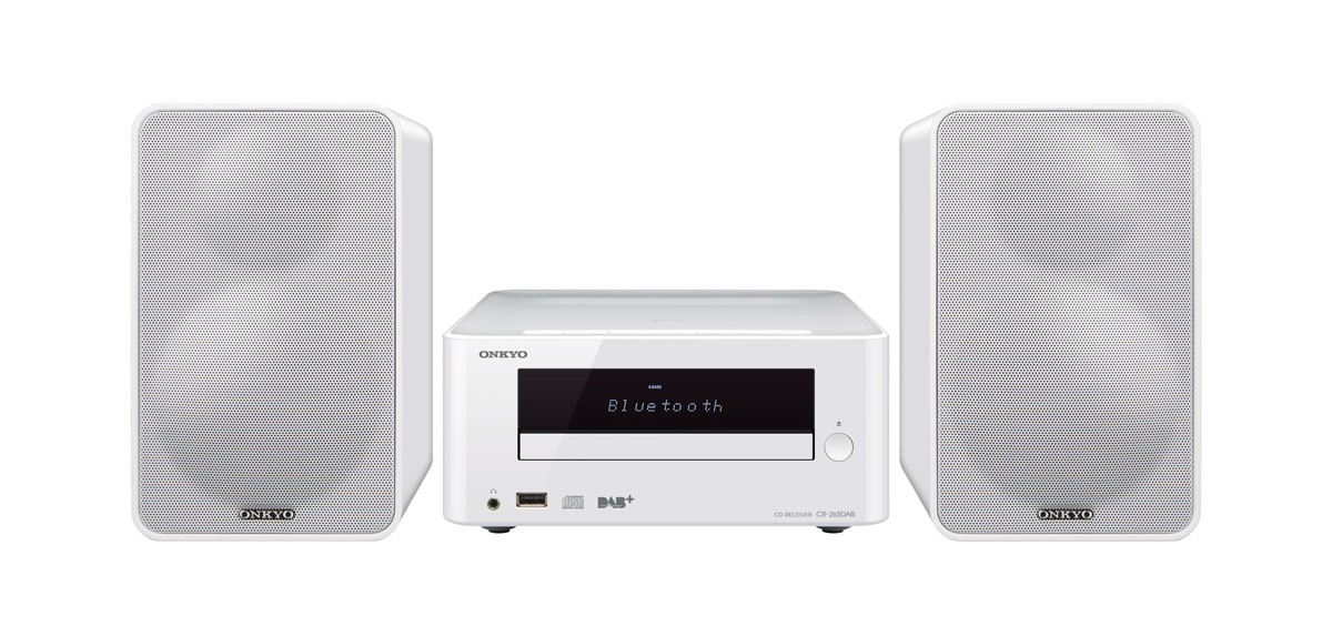 Onkyo CS-265DAB+ CD-Hi-Fi-Minisystem with Bluetooth