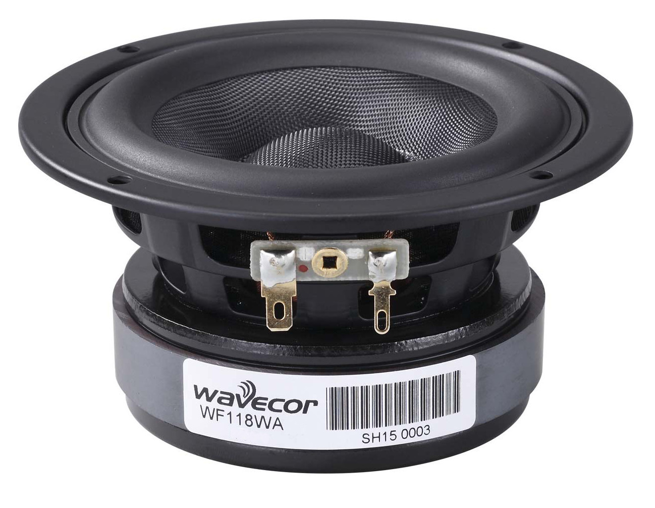 Wavecor WF118WA05, Glasfaser Membran 4 OHM