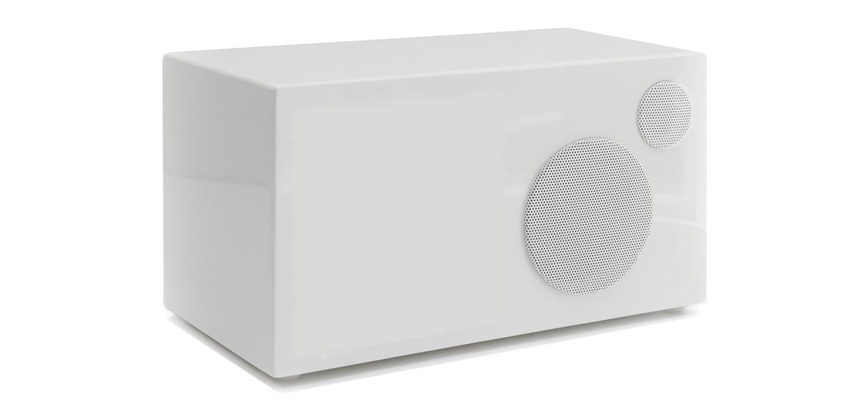 Como Audio Ambiente passiver Zusatzlautsprecher hochglanz weiss