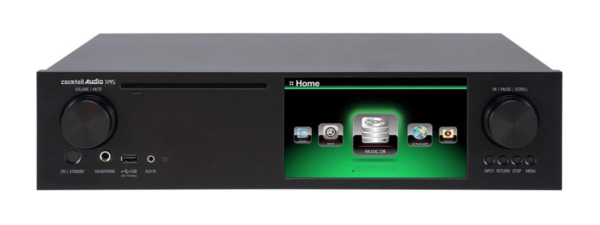 Cocktail Audio X45 High End Musikserver mit Dual Mono DAC