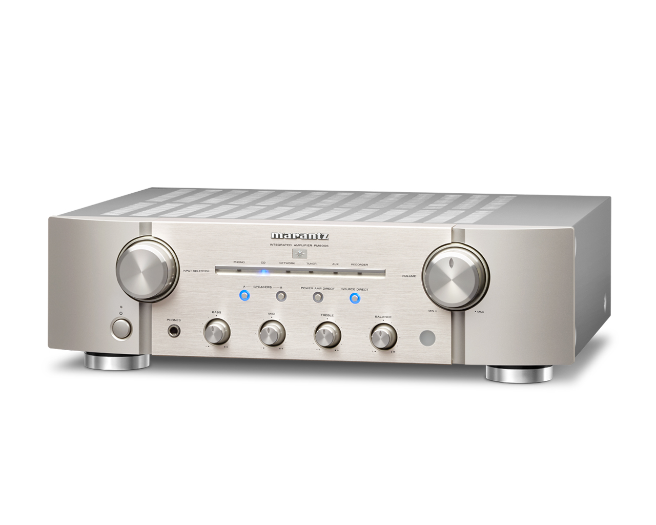 Marantz PM 8006 Integrated Amplfier with Phono silver-gold