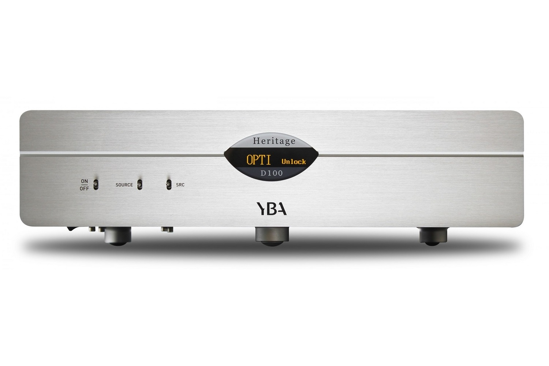 YBA Heritage D 100 DAC-Wandler Silber