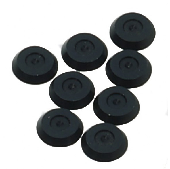 IT SP/P15 Washer ALU Set of 8 Pieces Black
