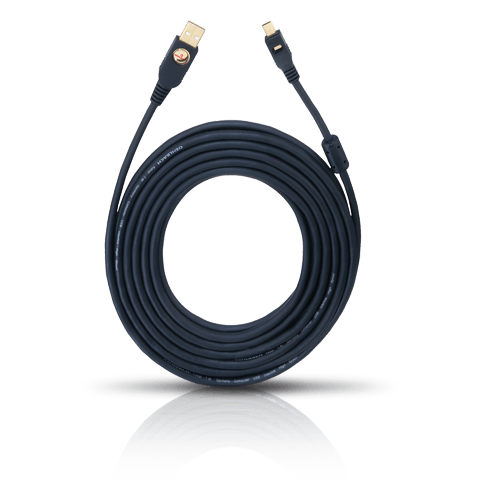 Oehlbach High Speed USB 2.0  A>mini-Kabel 1,50 m