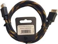 Eagle HDMI-Kabel Ethernet 1,5 mtr. High Speed, vergoldet