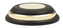 Audio Selection Rubber Dumper with Ring 75 MM gold