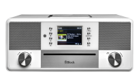 Block SR-50 Smart-Radio mit CD Player, weiß (Demomodel)