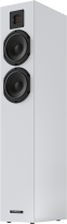 Piega Classic 5.0 Stand-Speakers, high gloss white (Demo Model)