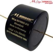 Mundorf M-Cap Supreme EVO Silber/Gold 1000 VDC 0,001 uF