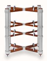 Solid Tech Rack of Silence 4 Standard alu/ kirsche