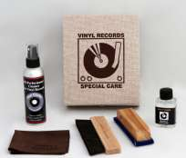 Simply Analog Vinyl Record Clean Box Set braun/Natur