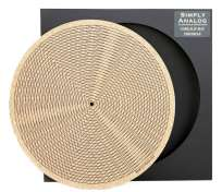 Simply Analog Kork Plattentellerauflage Tricircle