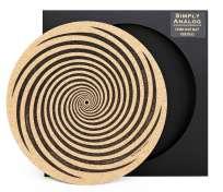 Simply Analog Cork Slipmat Vertigo