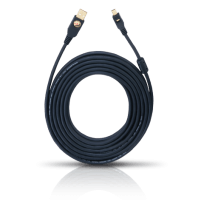 Oehlbach High Speed USB 2.0  A>mini-Kabel 7,50 m