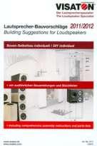Visaton: Loudspeaker Building Suggestions 2011/2012