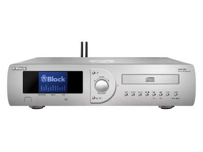 Block CVR-100+ MKII CD-Internet-Receiver/Streamer mit Bluetooth und W-LAN silber