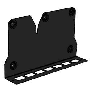 Q-Acoustics Q7000Si - Wandhalter für Subwoofer 7060S, schwarz