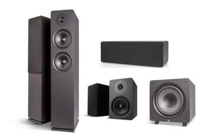 Argon Audio Alto 55 MK2 5.1 Heimkino Set - 2x Alto 55 MK2 + 2x Alto 5 MK2 + 1x Alto C MK2 + 1x Alto Bass 10 MK2