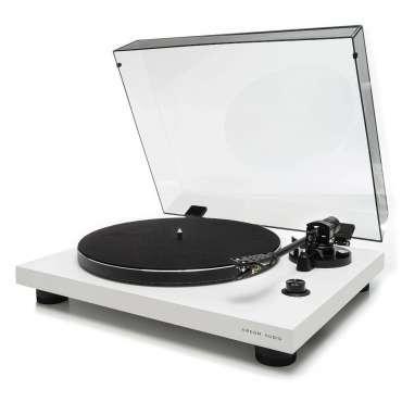Argon Audio TT 3 Plattenspieler mit Ortofon OM5E Tonabnehmer weiss